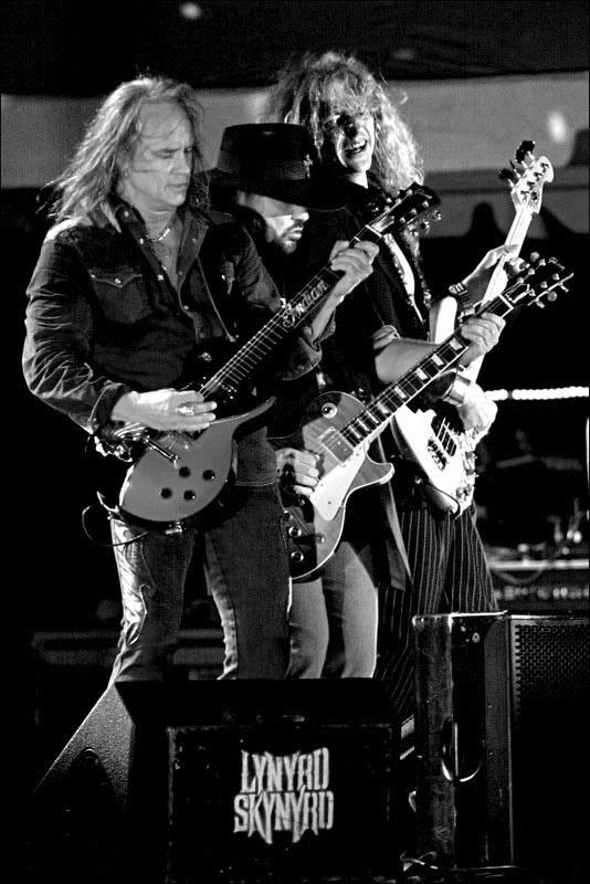 Lynyrd Skynyrd Musician and Band promotional photography by Austin Photographer Doug Heslep