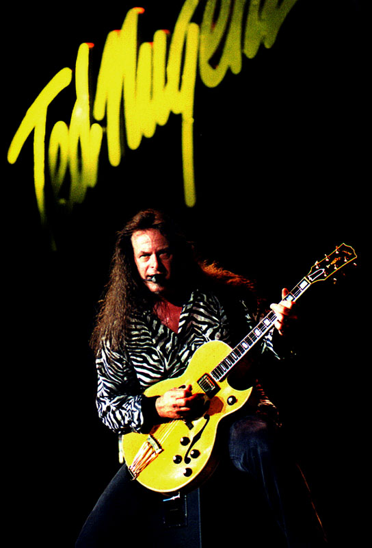 Ted Nugent Musician and Band promotional photography by Austin Photographer Doug Heslep