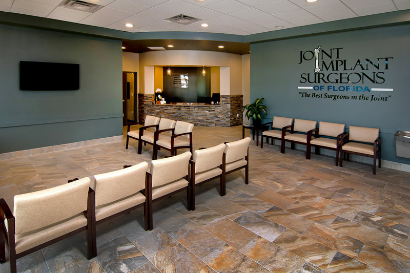 Doctor Office Lobby Commercial Architectural Photography in Austin by Doug Heslep Photography