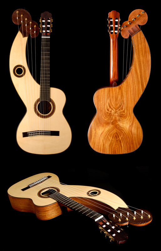 Guitar Product Photography in Austin by Doug Heslep Photography