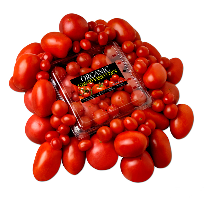 Tomato Product Photography in Austin by Doug Heslep Photography